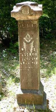 PARROTT, JOSEPH BOWERS, DR - Sabine County, Louisiana | JOSEPH BOWERS, DR PARROTT - Louisiana Gravestone Photos