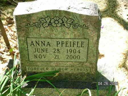 PFEIFLE, ANNA - Sabine County, Louisiana | ANNA PFEIFLE - Louisiana Gravestone Photos