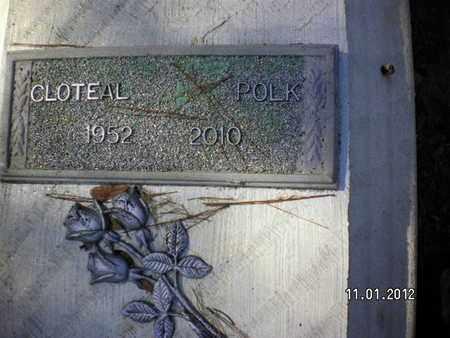 POLK, CLOTEAL - Sabine County, Louisiana | CLOTEAL POLK - Louisiana Gravestone Photos