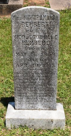 REMBERT, MINNIE AMANDA - Sabine County, Louisiana | MINNIE AMANDA REMBERT - Louisiana Gravestone Photos
