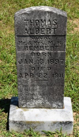 REMBERT, THOMAS ALBERT - Sabine County, Louisiana | THOMAS ALBERT REMBERT - Louisiana Gravestone Photos