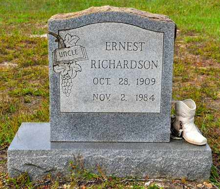 RICHARDSON, ERNEST - Sabine County, Louisiana   ERNEST RICHARDSON - Louisiana Gravestone Photos