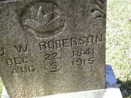 ROBERSON, J W - Sabine County, Louisiana | J W ROBERSON - Louisiana Gravestone Photos