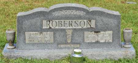 ROBERSON, ROBERT E - Sabine County, Louisiana | ROBERT E ROBERSON - Louisiana Gravestone Photos