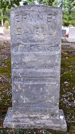 SAVELL, ERVIN B - Sabine County, Louisiana | ERVIN B SAVELL - Louisiana Gravestone Photos