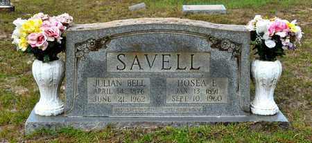 SAVELL, JULIAN BELL - Sabine County, Louisiana   JULIAN BELL SAVELL - Louisiana Gravestone Photos