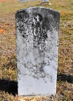 SAVELL, JOHN W (VETERAN) - Sabine County, Louisiana | JOHN W (VETERAN) SAVELL - Louisiana Gravestone Photos