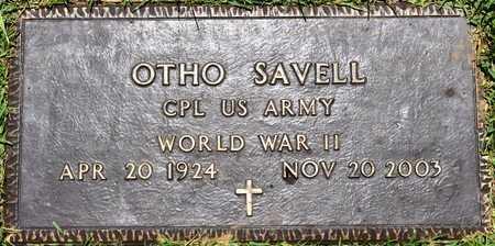 SAVELL, OTHO (VETERAN WWII) - Sabine County, Louisiana   OTHO (VETERAN WWII) SAVELL - Louisiana Gravestone Photos