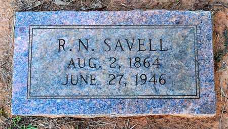 SAVELL, R N - Sabine County, Louisiana | R N SAVELL - Louisiana Gravestone Photos