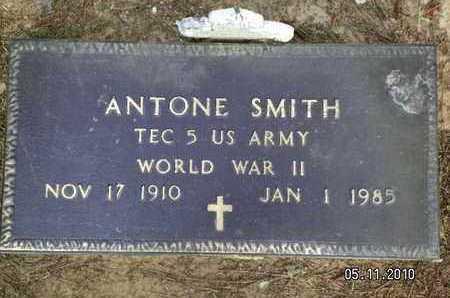 SMITH, ANTONE (VETERAN WWI) - Sabine County, Louisiana   ANTONE (VETERAN WWI) SMITH - Louisiana Gravestone Photos
