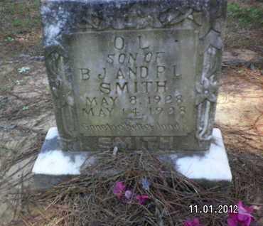 SMITH, O L - Sabine County, Louisiana | O L SMITH - Louisiana Gravestone Photos