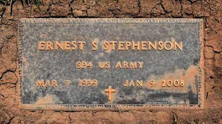 STEPHENSON  , ERNEST SANDERS (VETERAN) - Sabine County, Louisiana | ERNEST SANDERS (VETERAN) STEPHENSON   - Louisiana Gravestone Photos