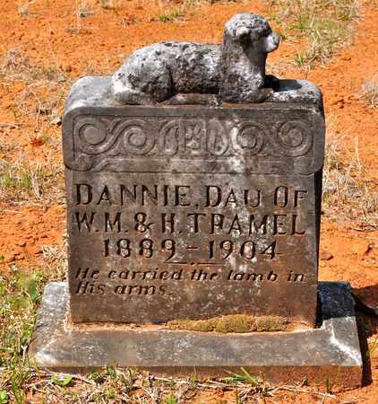 TRAMEL, DANNIE - Sabine County, Louisiana | DANNIE TRAMEL - Louisiana Gravestone Photos