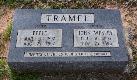 TRAMEL, EFFIE - Sabine County, Louisiana   EFFIE TRAMEL - Louisiana Gravestone Photos