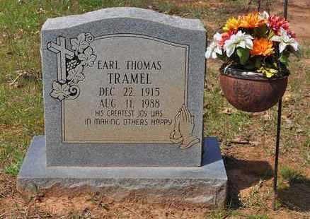 TRAMEL, EARL THOMAS - Sabine County, Louisiana   EARL THOMAS TRAMEL - Louisiana Gravestone Photos