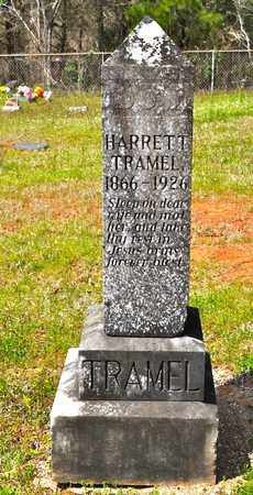 TRAMEL, HARRETT - Sabine County, Louisiana | HARRETT TRAMEL - Louisiana Gravestone Photos