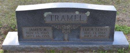 TRAMEL, JAMES A - Sabine County, Louisiana | JAMES A TRAMEL - Louisiana Gravestone Photos