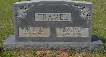 TRAMEL, MERLYN - Sabine County, Louisiana | MERLYN TRAMEL - Louisiana Gravestone Photos