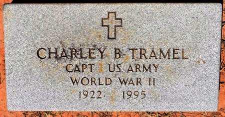 TRAMEL, CHARLEY B, DR (VETERAN WWII) - Sabine County, Louisiana | CHARLEY B, DR (VETERAN WWII) TRAMEL - Louisiana Gravestone Photos