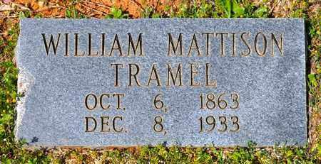 TRAMEL, WILLIAM MATTISON - Sabine County, Louisiana | WILLIAM MATTISON TRAMEL - Louisiana Gravestone Photos
