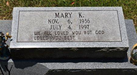 TREADWAY, MARY K (CLOSE UP) - Sabine County, Louisiana | MARY K (CLOSE UP) TREADWAY - Louisiana Gravestone Photos