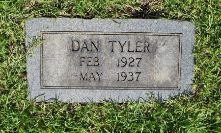 TYLER, DAN - Sabine County, Louisiana | DAN TYLER - Louisiana Gravestone Photos