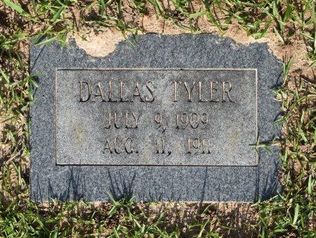 TYLER, DALLAS - Sabine County, Louisiana | DALLAS TYLER - Louisiana Gravestone Photos