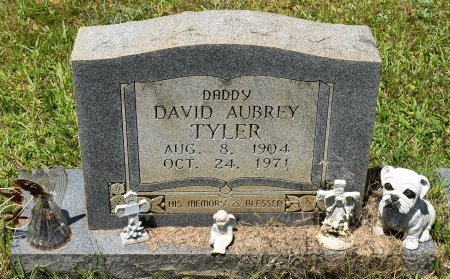 TYLER, DAVID AUBREY - Sabine County, Louisiana | DAVID AUBREY TYLER - Louisiana Gravestone Photos