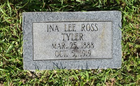TYLER, INA LEE - Sabine County, Louisiana | INA LEE TYLER - Louisiana Gravestone Photos