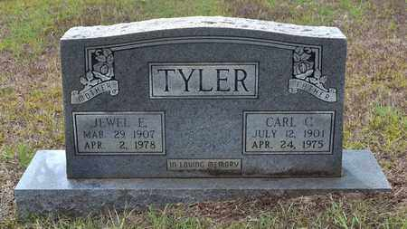 TYLER, JEWELL E - Sabine County, Louisiana | JEWELL E TYLER - Louisiana Gravestone Photos