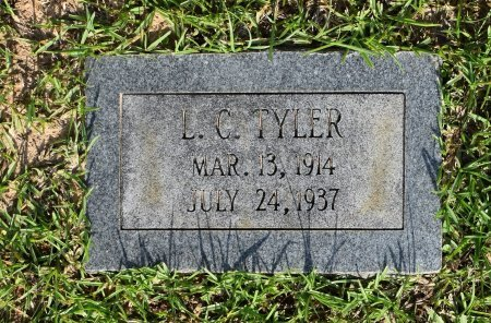 TYLER, L C - Sabine County, Louisiana | L C TYLER - Louisiana Gravestone Photos
