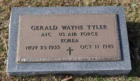 TYLER, GERALD WAYNE (VETERAN KOR) - Sabine County, Louisiana | GERALD WAYNE (VETERAN KOR) TYLER - Louisiana Gravestone Photos