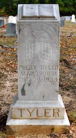 TYLER, PHEBY - Sabine County, Louisiana   PHEBY TYLER - Louisiana Gravestone Photos