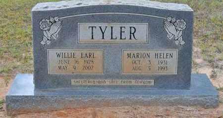 TYLER, MARION HELEN - Sabine County, Louisiana | MARION HELEN TYLER - Louisiana Gravestone Photos