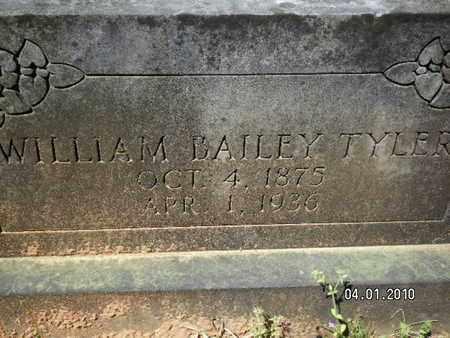 TYLER, WILLIAM BAILEY - Sabine County, Louisiana | WILLIAM BAILEY TYLER - Louisiana Gravestone Photos