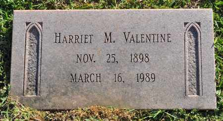 VALENTINE, HARRIET M - Sabine County, Louisiana | HARRIET M VALENTINE - Louisiana Gravestone Photos