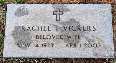 VICKERS, RACHEL THEO (2ND STONE0 - Sabine County, Louisiana | RACHEL THEO (2ND STONE0 VICKERS - Louisiana Gravestone Photos