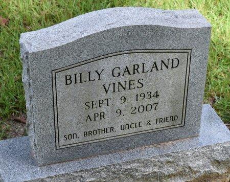 VINES, BILLY GARLAND - Sabine County, Louisiana | BILLY GARLAND VINES - Louisiana Gravestone Photos