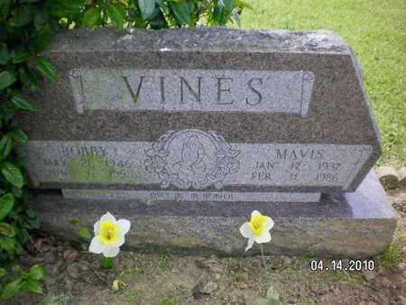 VINES, BOBBY - Sabine County, Louisiana | BOBBY VINES - Louisiana Gravestone Photos
