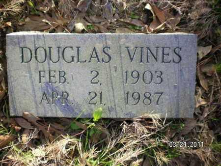 VINES, DOUGLAS - Sabine County, Louisiana | DOUGLAS VINES - Louisiana Gravestone Photos