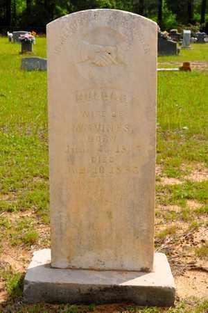 VINES, HULDAH - Sabine County, Louisiana | HULDAH VINES - Louisiana Gravestone Photos
