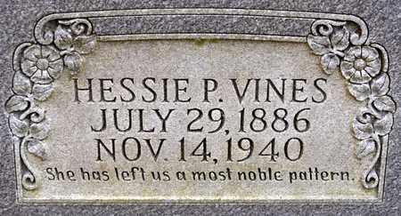 VINES, HESSIE - Sabine County, Louisiana   HESSIE VINES - Louisiana Gravestone Photos