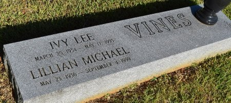 VINES, IVY LEE - Sabine County, Louisiana | IVY LEE VINES - Louisiana Gravestone Photos