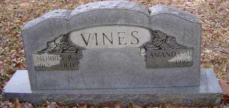 VINES, NORRIS RUTHERFORD - Sabine County, Louisiana | NORRIS RUTHERFORD VINES - Louisiana Gravestone Photos