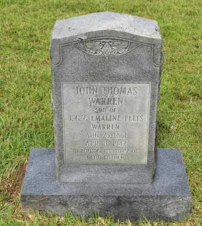 WARREN, JOHN THOMAS - Sabine County, Louisiana | JOHN THOMAS WARREN - Louisiana Gravestone Photos