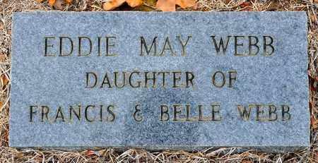 WEBB, EDDIE MAY - Sabine County, Louisiana | EDDIE MAY WEBB - Louisiana Gravestone Photos