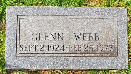 WEBB, GLENN - Sabine County, Louisiana | GLENN WEBB - Louisiana Gravestone Photos