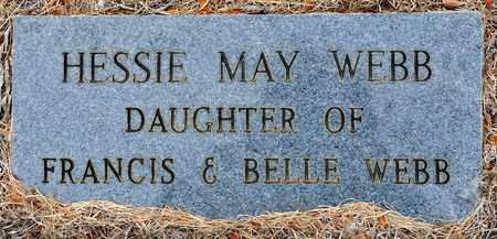 WEBB, HESSIE MAY - Sabine County, Louisiana | HESSIE MAY WEBB - Louisiana Gravestone Photos