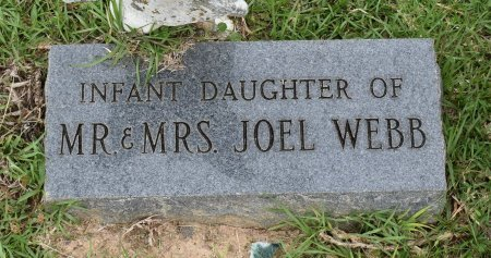WEBB, INFANT - Sabine County, Louisiana | INFANT WEBB - Louisiana Gravestone Photos
