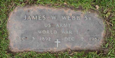 WEBB, JAMES W, SR (VETERAN WWI) - Sabine County, Louisiana | JAMES W, SR (VETERAN WWI) WEBB - Louisiana Gravestone Photos